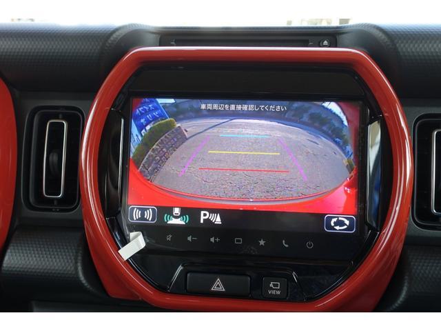 ハイブリッドXターボ 9インチメーカーナビ フルセグ地デジ 全方位カメラ DVD Bluetooth USB スズキセーフティサポート LEDヘッドライト フォグ スマートキー プッシュスタート 修復歴無(27枚目)