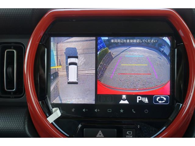 ハイブリッドXターボ 9インチメーカーナビ フルセグ地デジ 全方位カメラ DVD Bluetooth USB スズキセーフティサポート LEDヘッドライト フォグ スマートキー プッシュスタート 修復歴無(29枚目)