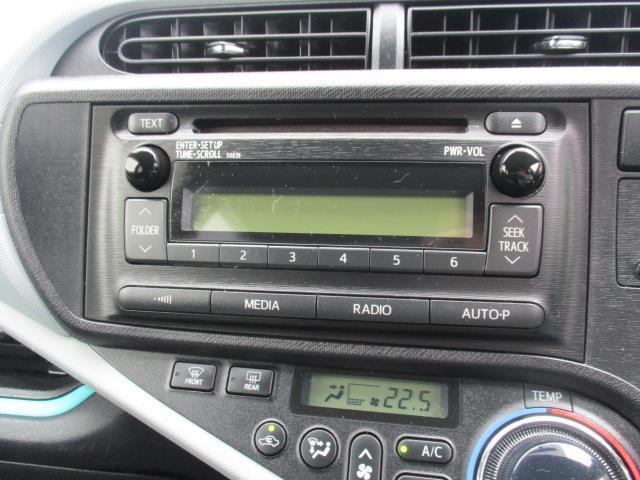トヨタ アクア S CD スマートキー 記録簿