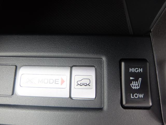 運転席・助手席シートヒーター/X-MODE