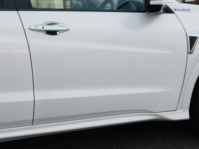 ハイブリッドZ 正規輸入車ディーラー下取 ワンオーナー 禁煙車 ルーフレール LEDライト スマートキー ハーフレザーシート インターナビ 地デジ バックモニター クルーズコントロール ドライブレコーダー ETC(32枚目)