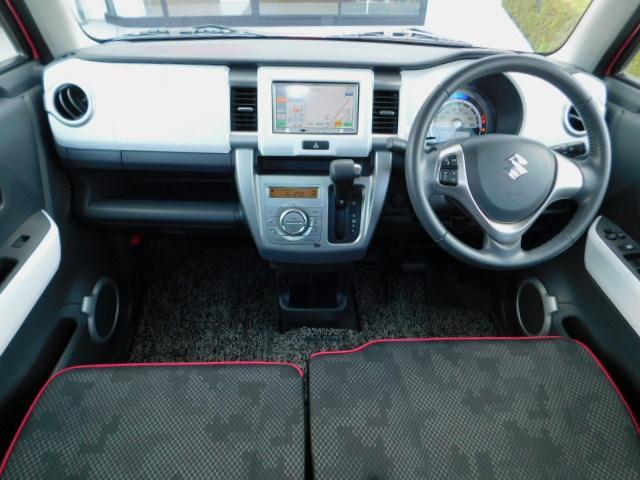 X 禁煙車 アイドリングストップ ブレーキサポート ディスチャージヘッドライト オートライト スマートキー ベンチシート 運転席助手席シートヒーター SDナビ ワンセグTV 電動格納リモコンドアミラー(12枚目)