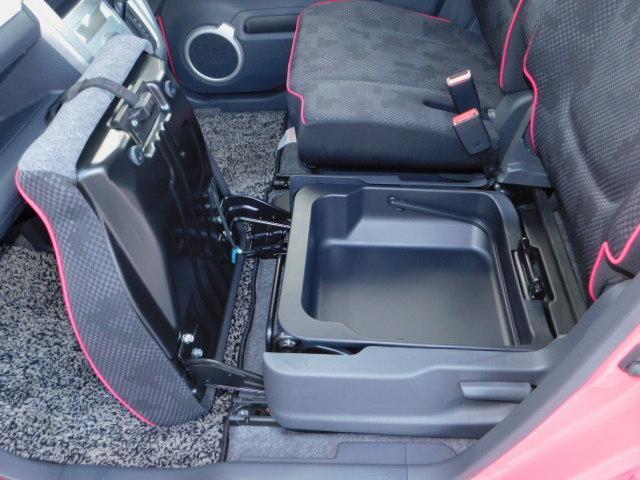 X 禁煙車 アイドリングストップ ブレーキサポート ディスチャージヘッドライト オートライト スマートキー ベンチシート 運転席助手席シートヒーター SDナビ ワンセグTV 電動格納リモコンドアミラー(79枚目)