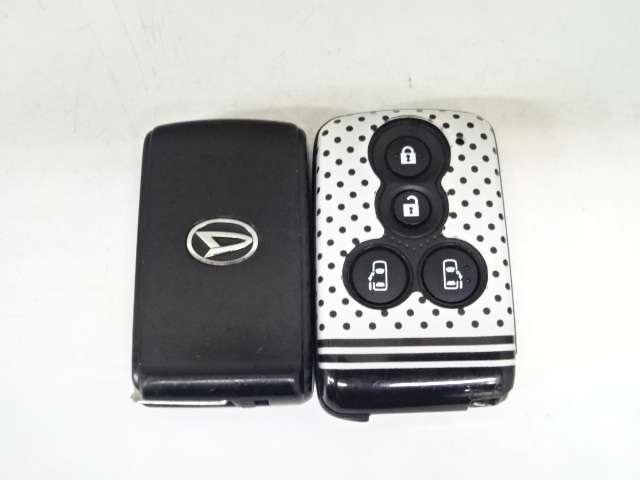 【スマートキー】キーレスをバッグやポケットに入れっぱなしでもドアロックの施錠開錠や、エンジン始動が可能です!
