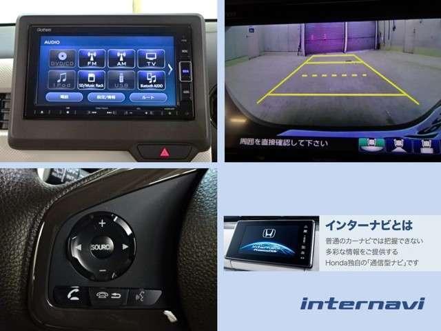 L・ターボホンダセンシング 当社デモカー ナビ リヤカメラ LED ETC キーレス シートヒーター バックモニター LED 禁煙車(3枚目)