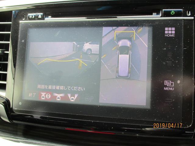 アラウンドビューモニター付き☆クルマの真上から見ているかのような映像が見れるので、駐車が苦手な方でも楽々です♪