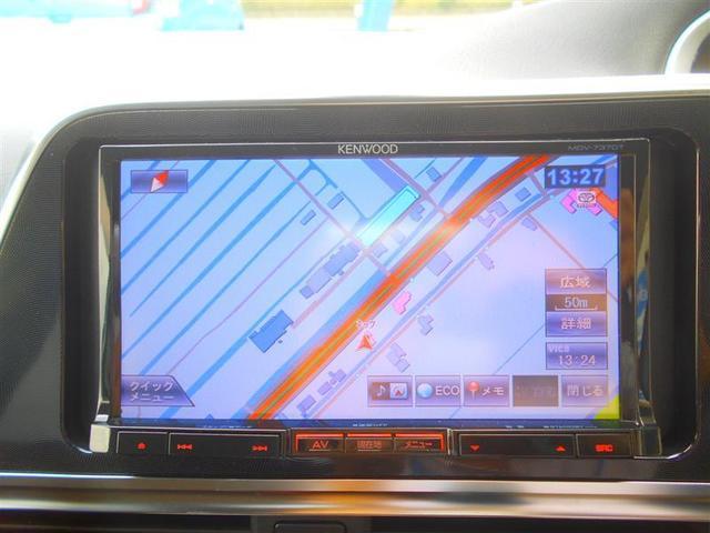 G フルセグ メモリーナビ DVD再生 バックカメラ 衝突被害軽減システム ETC 両側電動スライド ウオークスルー 乗車定員7人 3列シート アイドリングストップ(7枚目)
