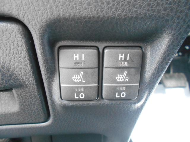 シートヒーター☆運転席、助手席の冬場の冷たいシートを温めてくれます。