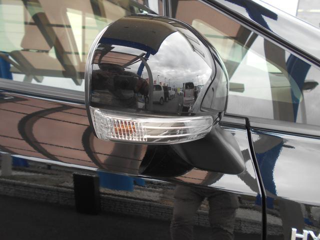 ウインカー付き電動格納ミラー