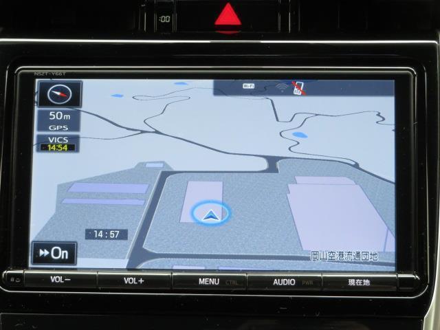 プレミアム メタル アンド レザーパッケージ ワンオーナー メモリーナビ フルセグ Bluetooth シートヒーター LED 安全装置(10枚目)