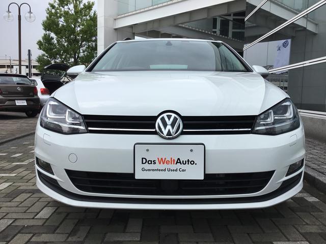 フォルクスワーゲン VW ゴルフヴァリアント TSIコンフォートラインBMT 当店元試乗車 新車保証継承