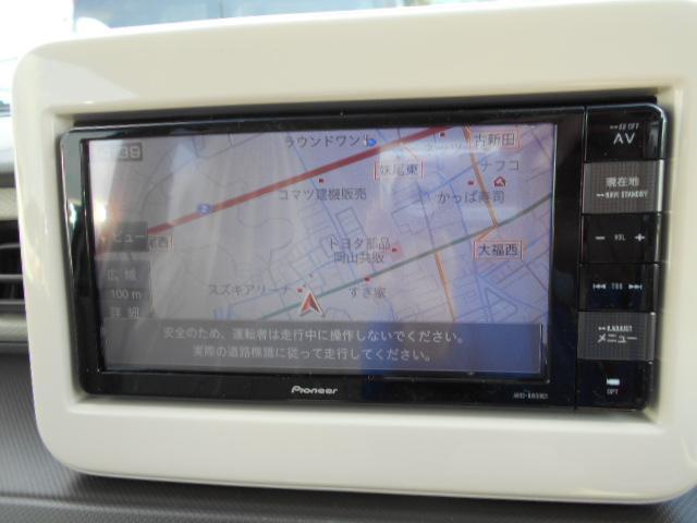 L スズキ純正ナビ付 レーダーブレーキサポート メーカー保証(4枚目)