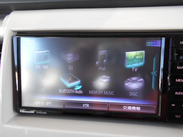 フルセグ、音楽録音やDVD再生、USB接続やBLUE-TOOTHもついています。