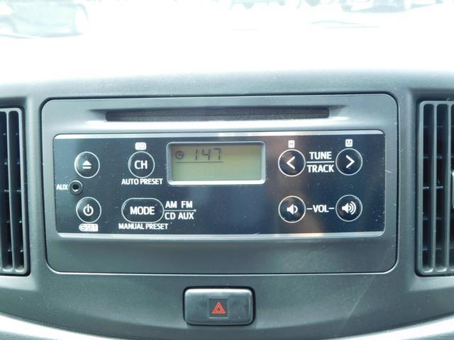 ダイハツ ミライース X SA 純正CD ラジオ 純正アルミ アイドリングストップ