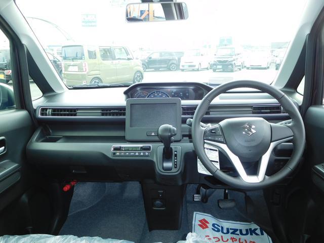 スズキ ワゴンR 外品SDナビ フルセグTV セーフティパッケージ