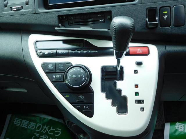 トヨタ アイシス プラタナ Vセレクションホワイトインテリアパッケージ ナビ