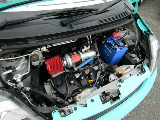 ダイハツ ミライース X 1オーナー SDナビ セキュリティ 車高調 サンルーフ