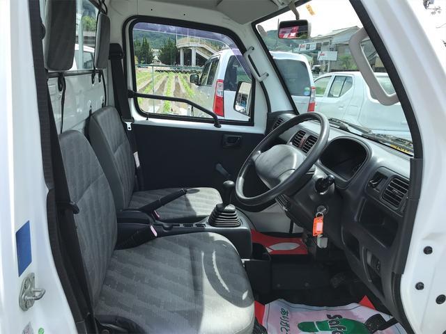 FC 2WD エアコン パワステ 5速MT ETC 三方開 ホワイト(29枚目)
