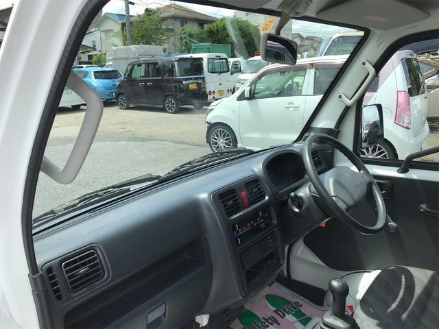 FC 2WD エアコン パワステ 5速MT ETC 三方開 ホワイト(34枚目)