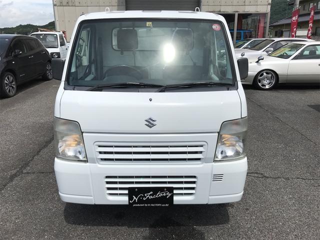 FC 2WD エアコン パワステ 5速MT ETC 三方開 ホワイト(41枚目)