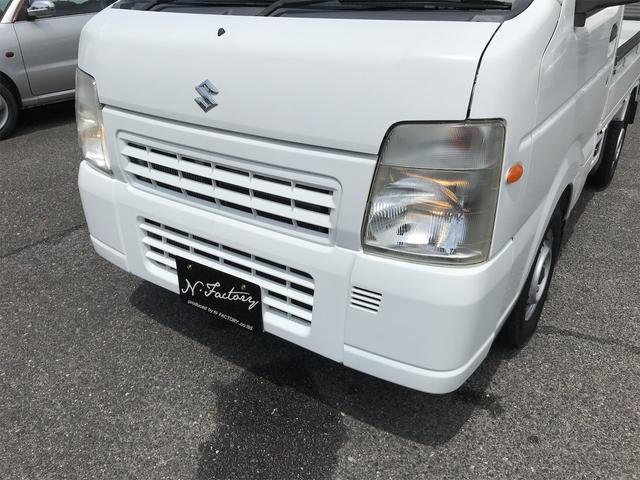 FC 2WD エアコン パワステ 5速MT ETC 三方開 ホワイト(45枚目)