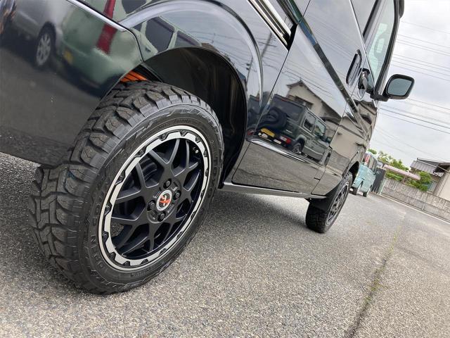 JOIN ハイルーフ ブラック 4AT 届出済未使用車 禁煙車 30mmUPサス仕様 社外15インチアルミホイール TOYOオープンカントリータイヤ 両側スライドドア(57枚目)