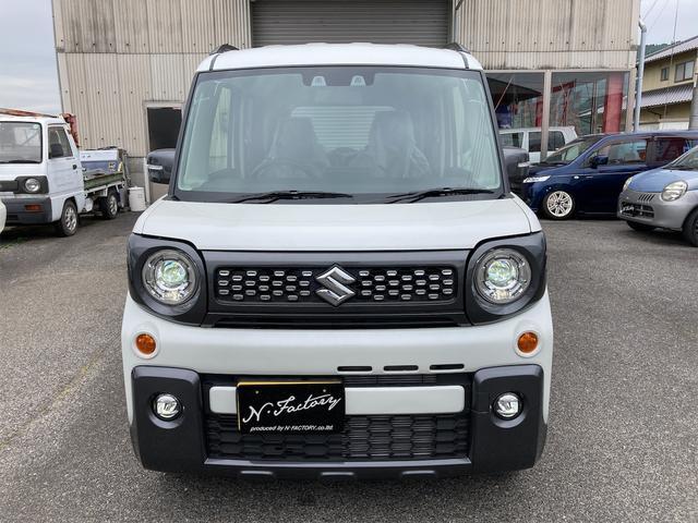 ハイブリッドXZ ターボ 禁煙車 届出済未使用車 社外15インチアルミホイール リフトアップ パナソニックストラーダナビ フルセグTV 両側電動スライドドア スマートキー アイドリングストップ シートヒーター(6枚目)