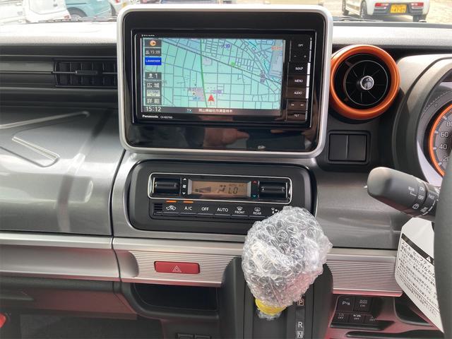 ハイブリッドXZ ターボ 禁煙車 届出済未使用車 社外15インチアルミホイール リフトアップ パナソニックストラーダナビ フルセグTV 両側電動スライドドア スマートキー アイドリングストップ シートヒーター(24枚目)