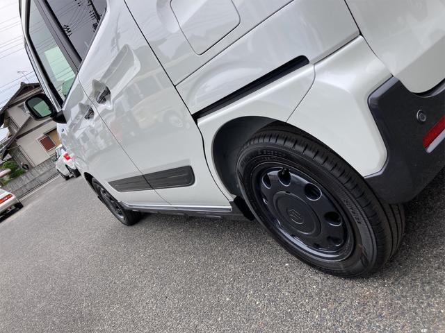 ハイブリッドXZ ターボ 禁煙車 届出済未使用車 社外15インチアルミホイール リフトアップ パナソニックストラーダナビ フルセグTV 両側電動スライドドア スマートキー アイドリングストップ シートヒーター(56枚目)