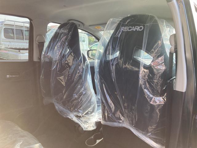 5F 2WD 禁煙車 届出済未使用車 5速MT ターボ フロント左右レカロシート ディスチャージヘッドランプ フォグランプ スマートキー プッシュスタート アルミホイール オートライト 盗難防止システム ESC(37枚目)