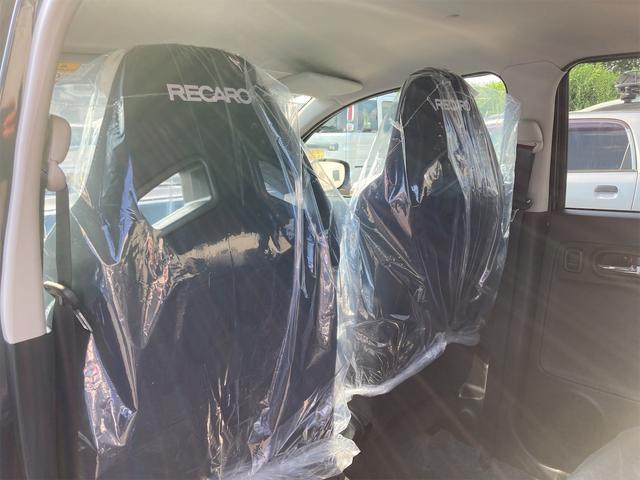 5F 2WD 禁煙車 届出済未使用車 5速MT ターボ フロント左右レカロシート ディスチャージヘッドランプ フォグランプ スマートキー プッシュスタート アルミホイール オートライト 盗難防止システム ESC(39枚目)