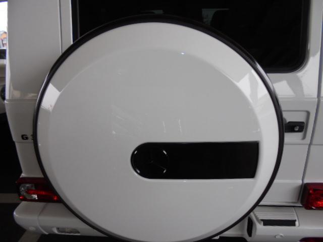 G350d 純正HDDナビ バックカメラ AMG20インチアルミ オプションサイドカメラ ブラバスサイド出しマフラー 社外ヘッドライト ブラバスデイライト マットブラック塗装 改造多(60枚目)