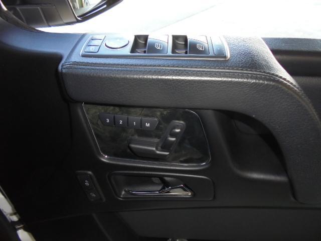 G350d 純正HDDナビ バックカメラ AMG20インチアルミ オプションサイドカメラ ブラバスサイド出しマフラー 社外ヘッドライト ブラバスデイライト マットブラック塗装 改造多(68枚目)