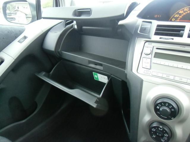 トヨタ ヴィッツ F キーレス CD ワンオーナー 禁煙車 電動格納ミラー