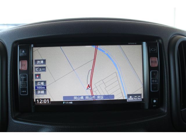 日産 キューブ 15X Vセレクション メモリーナビTV 全国対応保証