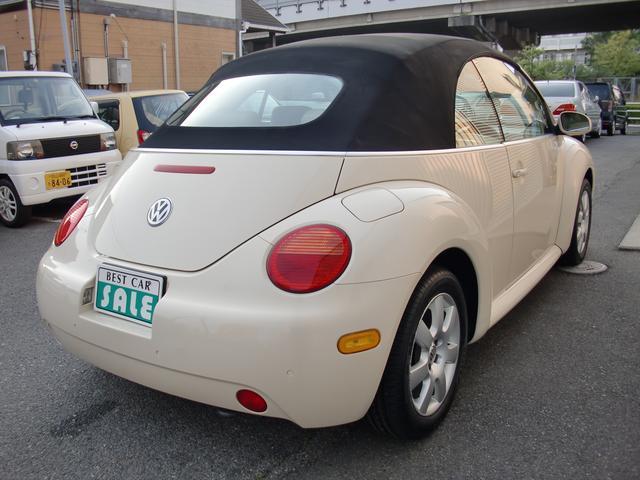 フォルクスワーゲン VW ニュービートルカブリオレ プラス