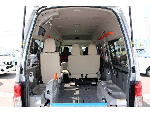 車いす1/1名仕様 ストレッチャー固定装置 ナビテレビ(4枚目)