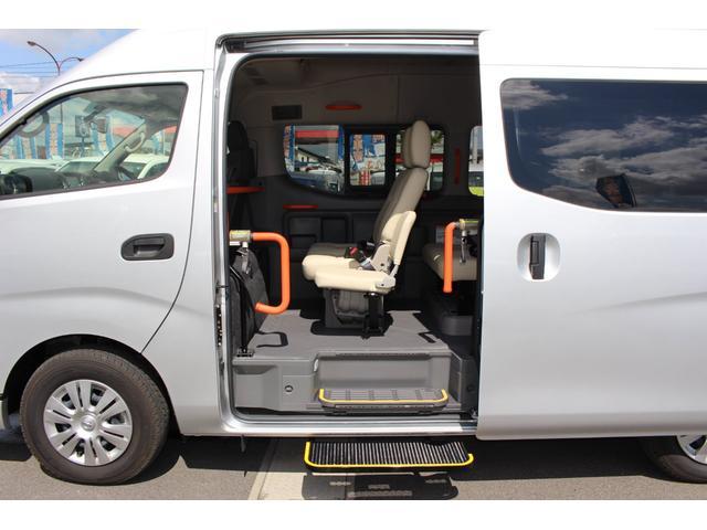 車いす1/1名仕様 ストレッチャー固定装置 ナビテレビ(8枚目)