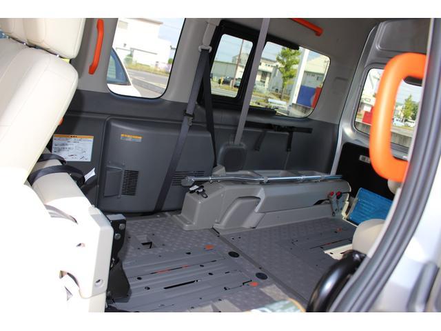 車いす1/1名仕様 ストレッチャー固定装置 ナビテレビ(14枚目)