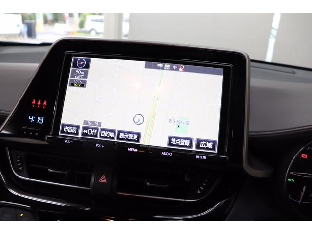 トヨタ C-HR G 純正9型SDナビTV 黒本革シート LEDヘッドライト