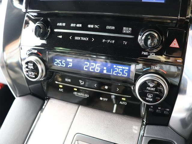 運転席、助手席、後席それぞれの体感温度によって温度設定が可能は前関左右・前後独立温度コントロールのフルオートエアコン!暑がりの人も寒がりな人も誰もが快適な装備ですね☆