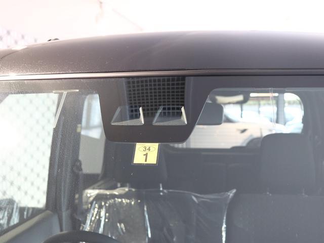 衝突警報機能♪単眼カメラが、走行中に前方の車両や歩行者を認識し、衝突の可能性があると判断した場合にブザーとメーター内表示でお知らせします☆