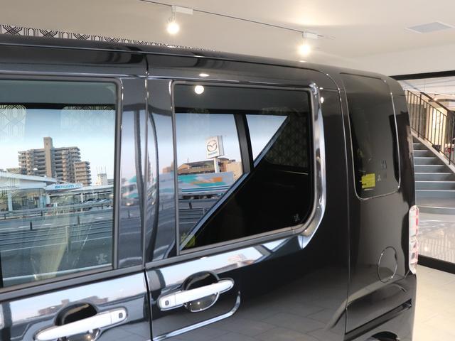 プライバシーガラス・可視光線の透過を低くし、熱線である近赤外線や日焼けの原因ともされた紫外線などの反射します!また、日光による熱の遮断も高め、車内の温度の上昇をおさえてくれます★