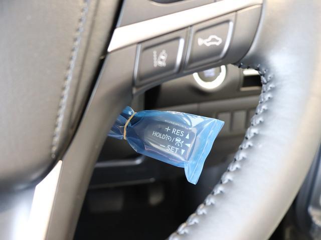 クルーズコントロールスイッチ付き!設定すると高速道路などでアクセル操作が不要になり、便利です!