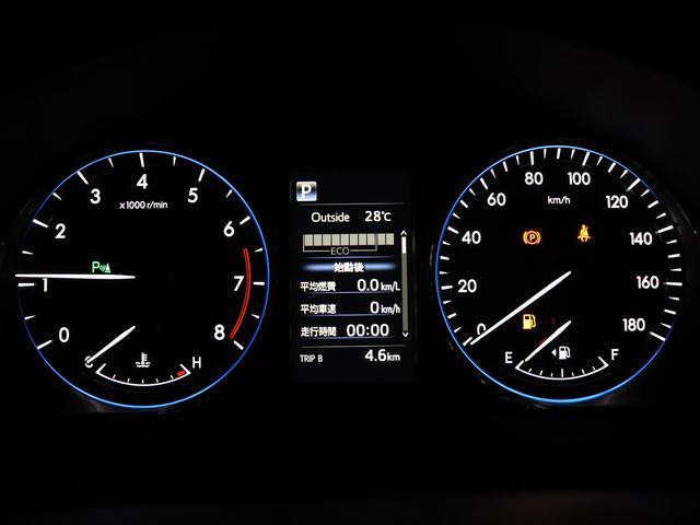 カラーインフォメーションディスプレイ付きオプティトロンメーター・メッキ加飾リングを施した立体的な文字盤で高級感を演出☆カラーで様々車両情報をご確認いただけます!