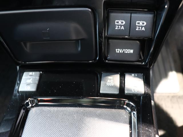 ハイブリッドGi 純正10型SDナビ フルセグTV バックモニター 純正12.1型後席モニター 両側パワースライドドア ブラックレザーシート LEDヘッドライト ウッドコンビハンドル 7人乗り ETC 純正アルミ(7枚目)