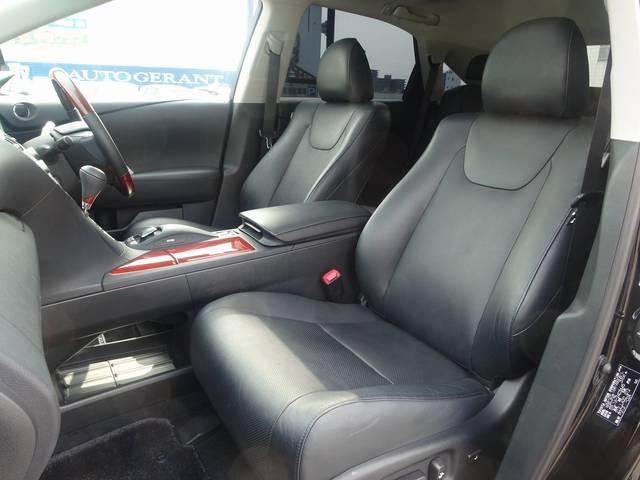 レクサス RX 450h L HDD SR 黒革エアーシート AWD