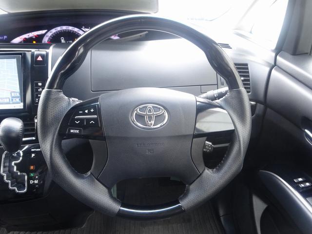 トヨタ エスティマ アエラス プレミアムエディション 純正8型ナビ 両側自動D