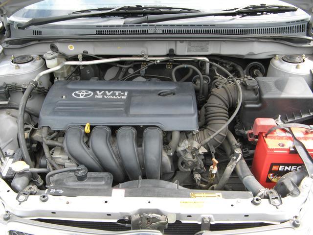 トヨタ カローラフィールダー S リミテッド 外品ナビ取付け済みエクリプス