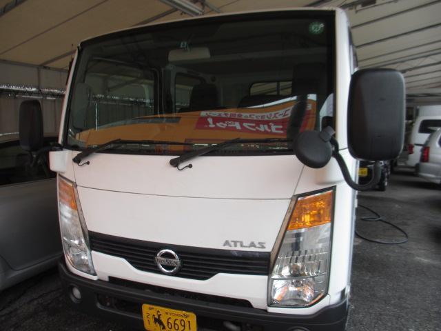 日産 アトラストラック WキャブスーパーローDX キーレス 6人乗